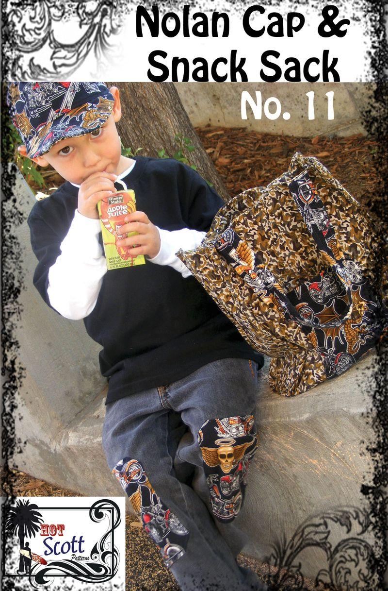 Nolan Cap & Snack Sack Cover