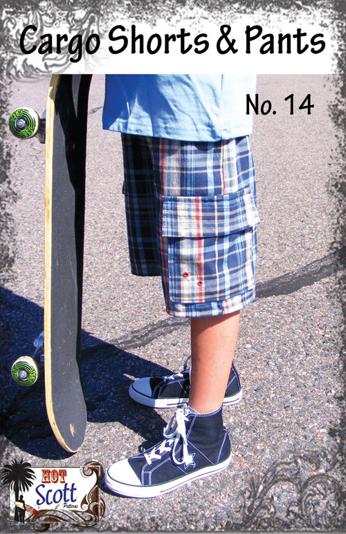 Cargo Shorts Pants Pattern Cover No 14 Etsy copy