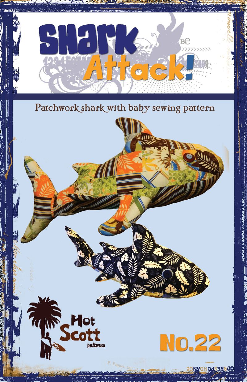 Shark Attack pattern cover